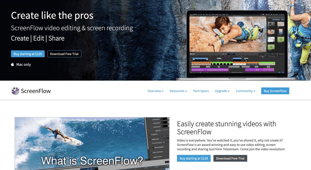 Screenflow Hero