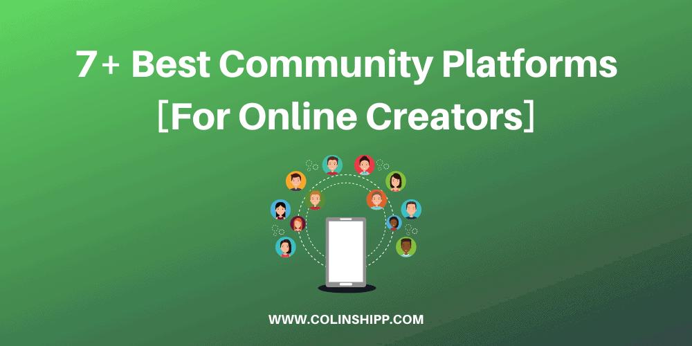 Online Community Platforms