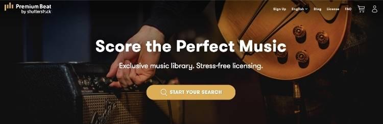PremiumBeat Homepage