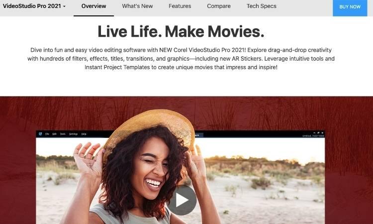 VideoStudio Homepage